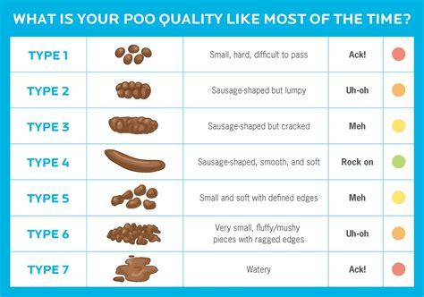 Healthy Human Poop Chart