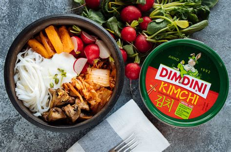 Pusdienu bļoda ar kimchi salātiem! :: Dimdiņi