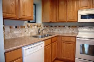 kitchen backsplash ideas with oak cabinets indelink com