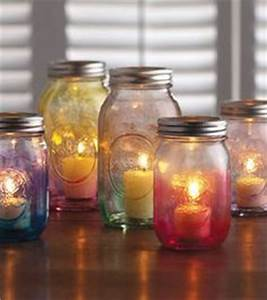 1000 images about mason jars on pinterest mason jars With best brand of paint for kitchen cabinets with candle holder for wedding