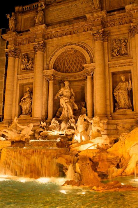 Trevi Fountain In Rome Italy Travel Travel Italy
