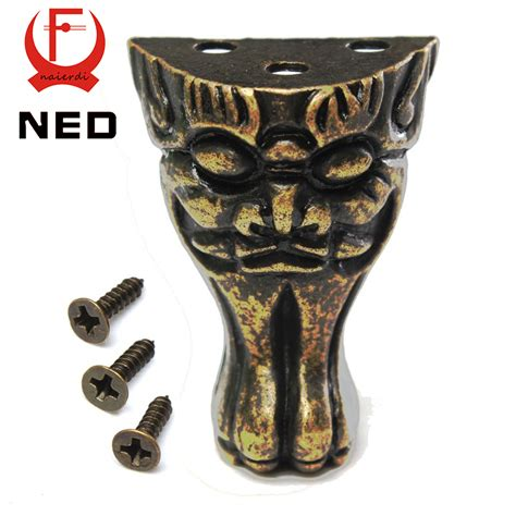 decorative wood cabinet feet ned antique brass jewelry chest wood box cabinet