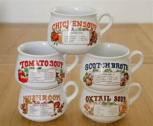 Vintage Soup Mug : Great Home Decor - Ideas Soup Mugs Designs