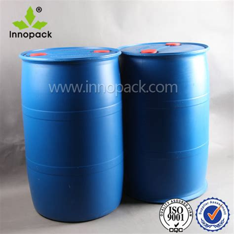 200 gallon water tank hdpe blue plastic drum for chemical packaging 55 gallon