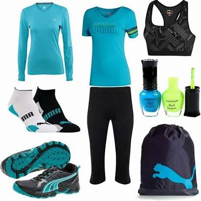 Gym Polyvore Puma Workout Gear Wear Swag