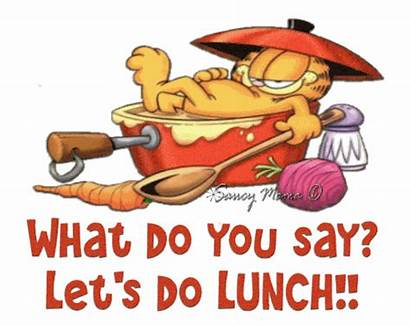 Lunch Clipart Shared Animated Graphics Let Garfield