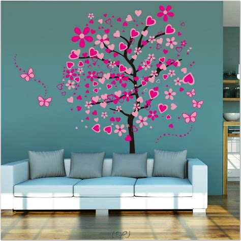 kids bedroom decor ideas 8 interior tree wall painting girl room decor kids