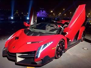 Lamborghini Veneno Red Wallpaper Widescreen HD | I HD Images