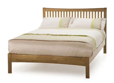 28741 size bed frame honey oak kingsize bed frame