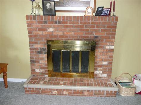 replace fireplace insert doors interior interior accent ideas brick fireplace