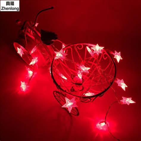 packaged for sale star copper wire string lights led fairy