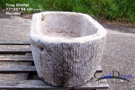 Waschbecken Draußen Garten by Waschbecken F 252 R Drau 223 En Steintrog Zhensi Marmor Gartendeko