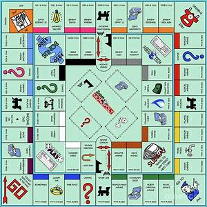 Monopoly Board Game Photograph By Doc Braham
