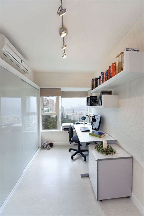 narrow office home office decor ideas to rev and rejuvenate your workspace