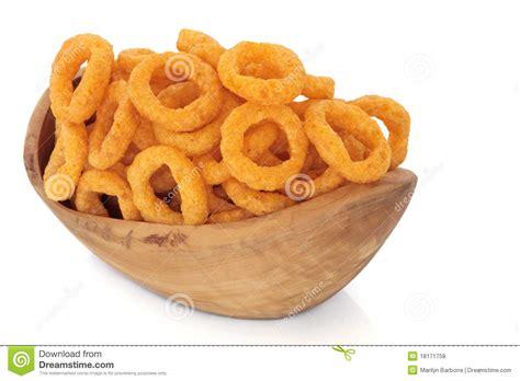 onion ring crisps stock photo image  unhealthy rustic