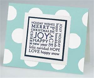 Holiday card making ideas Paper Source Blog