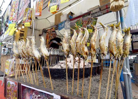 lets eat joban mono  fukushima  fish festival