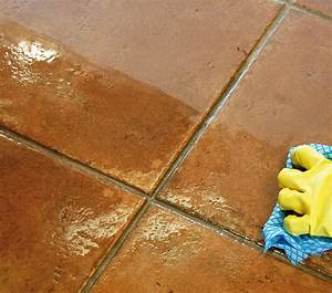 Porcelain and ceramic tiled floors look great when just for How to make tile floors shine