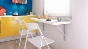 Table Cuisine Murale : table cuisine rabattable ~ Melissatoandfro.com Idées de Décoration