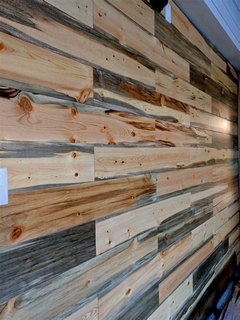 Shiplap Pine Wall Paneling by Beetle Kill Blue Pine Shiplap Sustainable Lumber Company