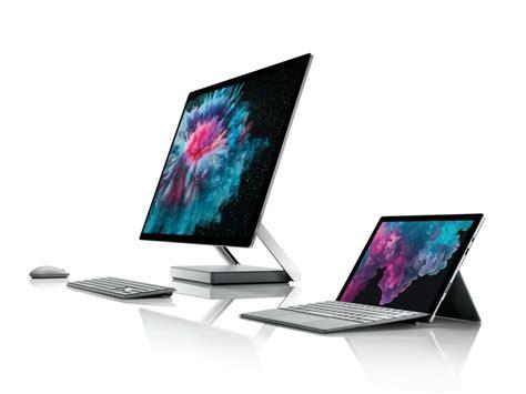 microsoft studio microsoft stellt surface pro 6 surface laptop 2 und