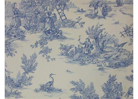 rideaux fenetres cuisine tissu 100 coton motif toile de jouy