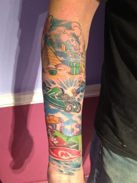 Tattoo Sleeves | Colorful Modern Tattoos | Majestic Tattoo NYC