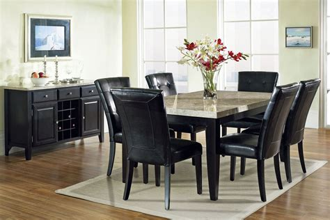 monarch dining table 6 chairs