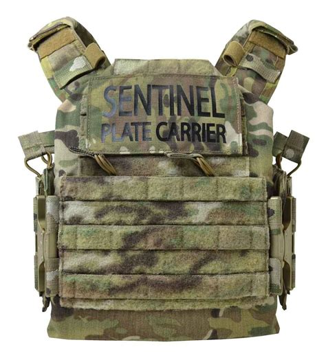 sentinel plate carrier bushido tactical