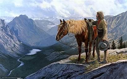 Desktop Western Wallpapers Cowboy West Wild Horse