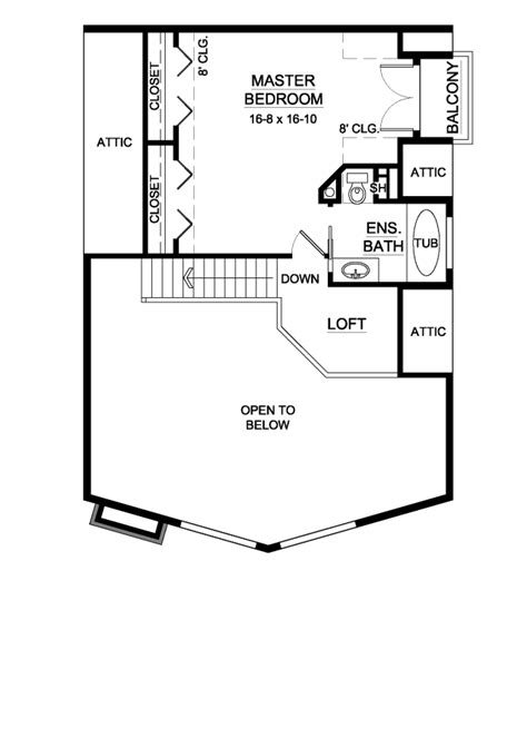 House Plan 99914 Contemporary Style with 1561 Sq Ft 2