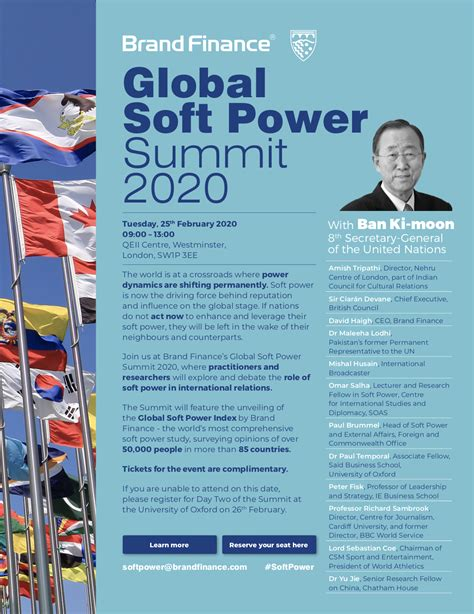 The Future of Power at Global Soft Power Summit 2020 ...
