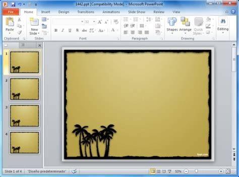 page borders  powerpoint