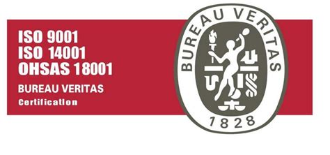 logo bureau pin iso 9001 14001 bureau veritas certification on