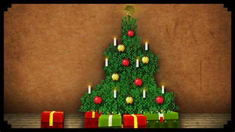 minecraft     christmas tree youtube