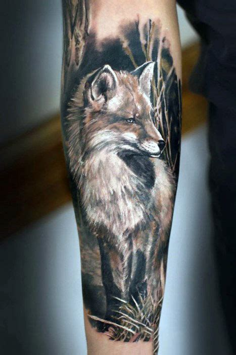 top   fox tattoo designs  men sly ink inspiration