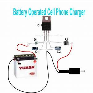Simple Dc Cellphone Charger Circuit