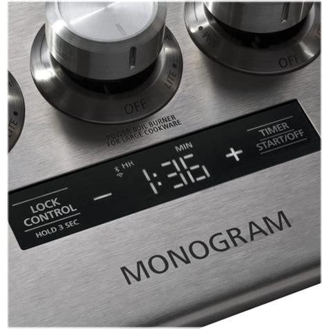 monogram  gas cooktop stainless steel  pacific sales