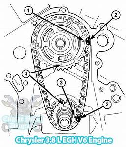 2007 Chrysler Pacifica Timing Marks Diagram  3 8l Engine