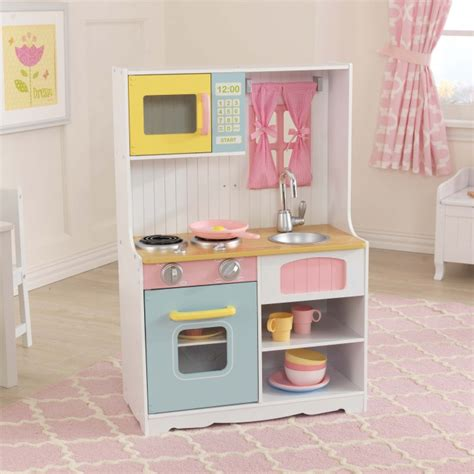 cuisine bois jouet jouets des bois cuisine en bois pastel country 53354