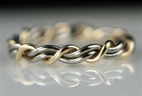 great wedding band idea quot cord of three quot wedding rings wedding bands made by artist todd alan