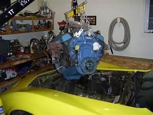 Zz4 Gm Crate Engine Install In A 1977 Corvette C3