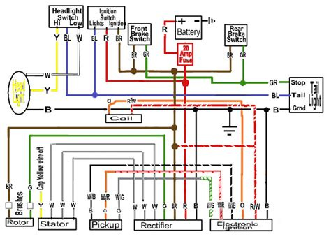 1999 Yamaha R1 Ignition Wire Diagram by Some Wiring Diagrams Page 7 Yamaha Xs650 Forum