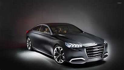 Hyundai Genesis Hcd Concept Wallpapers Background Side