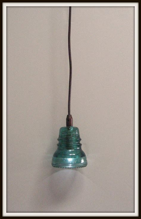 glass insulator pendant light diy gnewsinfo