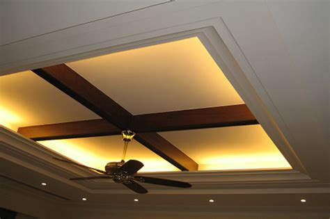 top false ceiling lighting with wooden design kolkata west bengal