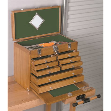 harbor freight storage cabinet wood tool chest w 8 wood tool drawers
