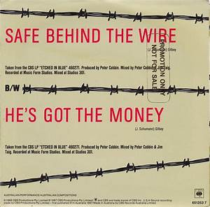 Safe Behind The Wire    He U0026 39 S Got The Money  1987