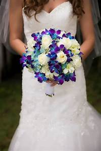 wedding bouquet blue and white | Wedding | Pinterest ...