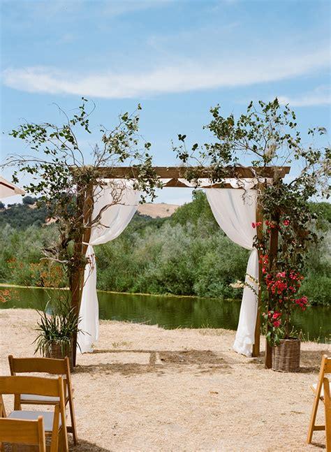 bohemian outdoor farm wedding real weddings oncewed